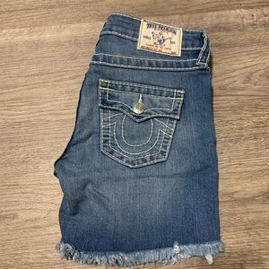 Women's True Religion Shorts Size 28